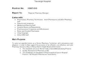 Pharmacy Technician Resume Objective Best For Laboratory Sample
