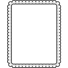 clip art princess frame clipart