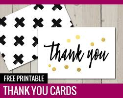 Free Printable Thank You Postcards Free Printable Thank You Cards Paper And Landscapes