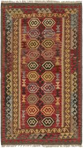 main unique loom 3 6 x 6 2 kilim maymana runner rug photo