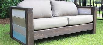 wooden sofa plans rogue engineer free plans outdoor wood plank loveseat