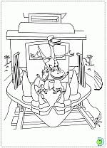 Tiny and shiny and don learn to fly in dinosaurus train coloring page. Dinosaur Train Coloring Pages Colouring Dino Train Dinokids Org