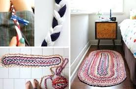 awesome braided rug diy for how to make the easiest braided t shirt rug 79 diy