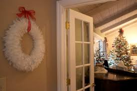 Small Picture Decorating Ideas Fantastic Decorative Round White Feather Wreath