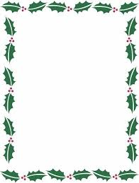 Holiday Borders For Word Documents Free Christmas Border For Word Document Vectorborders Net