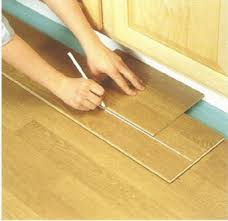 To Measure The Perimeter Boards That Need Cutting, First Lay A Full Plank  Over The Last Installed Board. Use A Third Board, Pushed Against The Wall,  ...