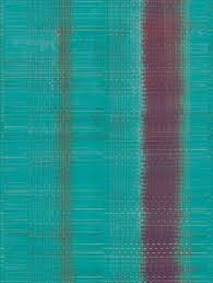 Eijffinger Sundari 375201 Paper Weave Blue Wandposter Met Een