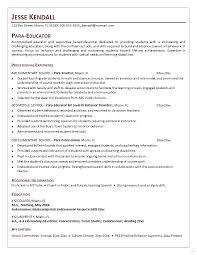 Paraprofessional Job Description For Resume Paraprofessional job description for resume cool cover letter 1