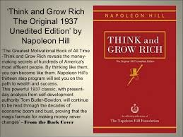 ... Interesting Think And Grow Rich Original 1937 Edition The Best 10 Books  On Self Improvement You ...