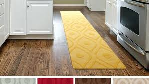 kitchen rugs for wood floors yellow country runners hardwood on