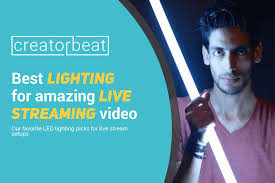 Best Streaming Lights Best Lighting For Live Streaming Video 2019 Creatorbeat