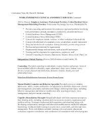 Mental Health Professional Resume Sample Best Of Camp Counselor Resume Sample Licensed Professional Counselor Resume