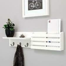 hanging entryway floating storage shelf