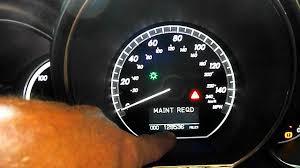 2008 Lexus Rx 350 Maintenance Light Reset Maintenance Light On Lexus Rx400h Hybrid