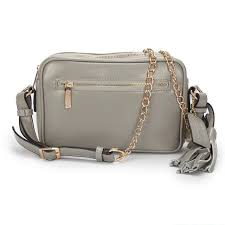 Coach Legacy Flight Medium Grey Crossbody Bags AFX Outlet Clearance Sale