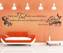 Wandtattoo Spruch Tod Leben Wandsticker Zitate Zitat Weisheit