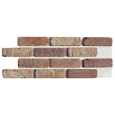 old mill thin brick systems 10 5 in x 28 in castle gate panel brick