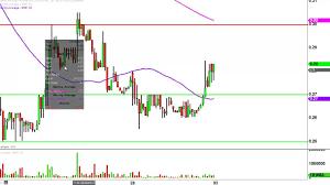 Imnp Stock Chart Immune Pharmaceuticals Inc Imnp Stock Chart Technical Analysis For 09 30 16