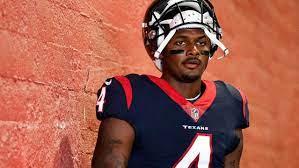 Houston Texans player Deshaun Watson ...
