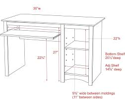 articles with standard desk sizes mm tag excellent desk depth throughout size 2000 x 1588