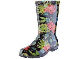 Sloggers Womens Waterproof Rain And Garden Boot With Comfort Insole Midsummer Black Size 7 Style 5002bk07 Newegg Com