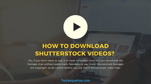Free Shutterstock Images How To Download Shutterstock Videos Without Watermark