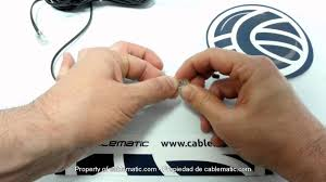 rj connector assembly using pin or pin telephone cable rj11 connector assembly using 2 pin or 4 pin telephone cable