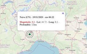 Terremoto in Piemonte oggi, domenica 19 gennaio 2020: scossa M 3.1 in  provincia Cuneo