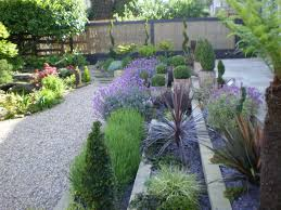 Small Picture Lawn Garden Excellent Small Gardens Design With Grey Gravel