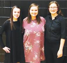 Kelley and Hanger represented school with the Junior-High District Honor  Band   School   webstercountycitizen.com