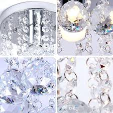 elegant ceiling mounted crystal chandelier or mini style 1 light flush mount crystal chandelier spiral rain