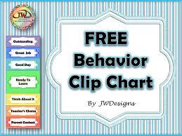 Free Behavior Clip Chart Behavior Clip Charts Behavior