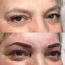 Awesome перманентный макияж бровей фото до и после отзывы