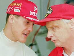 It was written by peter morgan, directed by ron howard and starred chris hemsworth as hunt and daniel brühl as lauda. Grand Prix Legend Niki Lauda Prays For The Recovery Of Friend Michael Schumacher Daily Record