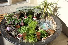Small Picture Fairy Garden Container Ideas 35 Fairy Garden Ideas In A Pot