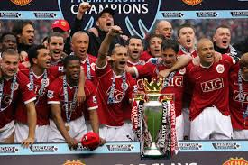On this day: Manchester United lift the 2006-07 Premier League trophy - The  Busby Babe