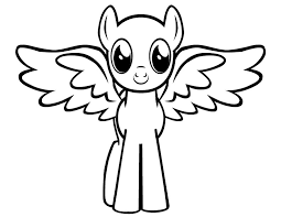 My Little Pony Pegasus Coloring Pages Color Bros