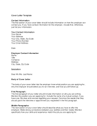 First Paragraph Of Cover Letter Cover Letter Template