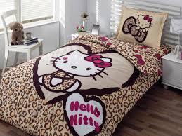 Lovely Cute Hello Kitty Bedroom Set
