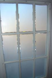 Frosted Glass on French Doors