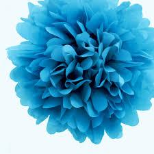 Tissue Paper Pom Poms Flower Balls Blue Tissue Paper Pom Poms Flowers Balls Decorations