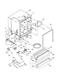 kenmore dishwasher parts. kenmore dishwasher parts   model 66515752000 sears partsdirect within ultra wash diagram