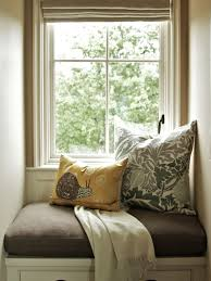 Small Window Seat Shingle Style Cottage Details Interior