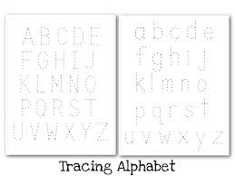 Nobby Design Uppercase And Lowercase Alphabet Tracing Worksheets ...