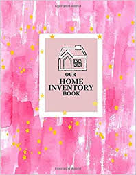 Home Inventory System Our Home Inventory Book Track Items Contents Claims