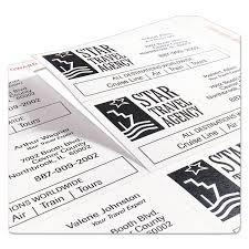 253979 clean edge business cards by avery� ave5871 ontimesupplies com on business card template staples