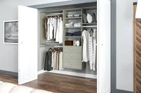 easy track closet kit closet system by easy track in weathered grey its so easy to easy track closet