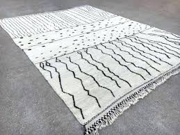 black and white moroccan rug rug black and white moroccan runner rug