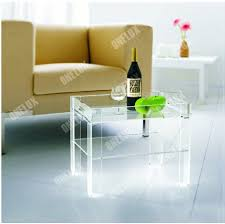 Sunshiny Acrylic I Beam Side Table ...
