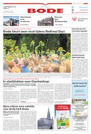 Bredase Bode 09 09 2015 By Uitgeverij De Bode Issuu